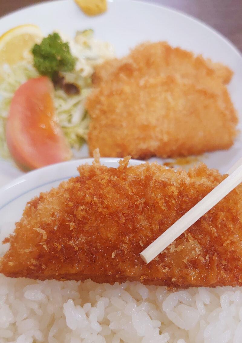 山田屋 ハムカツ定食